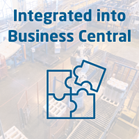 Integrated into Business Central