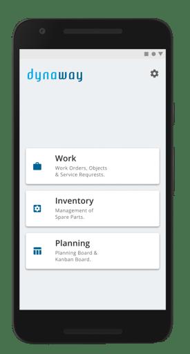 Full mobile client menu