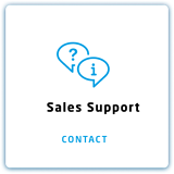 Sales Support card