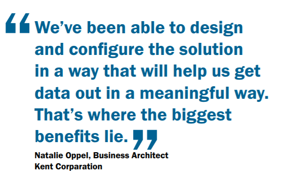 Qoute from Natalie Oppel about the experience working with Dynaway